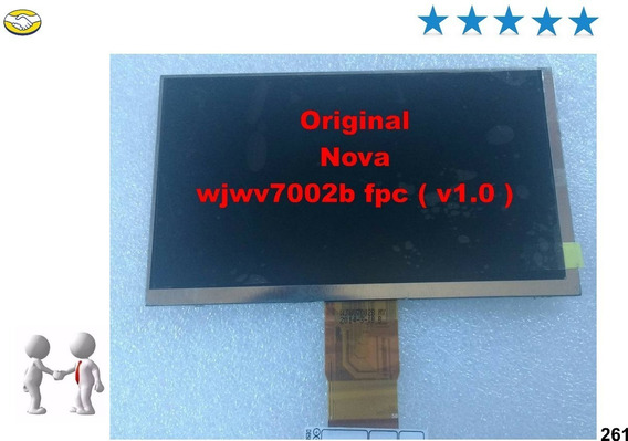 Display Lcd Original Dl Wjwv7002b Fpc V1.0 P Tablets