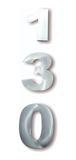 Números Para Casa Number House Mod. Bolk20 Cm