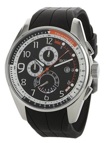 Reloj Hugo Boss Black Silicon Cab 1512366