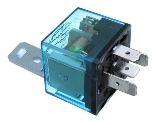 Imagen 1 de 1 de Relay Mini Universal 12volt 40 Amp 4 Terminales Transparente