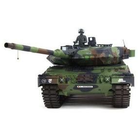 Tanque De Guerra 1/16 Heng Long Alemão Leopard 2a6 2.4ghz Rc