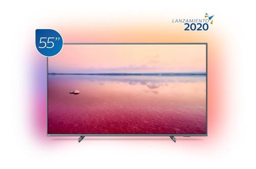 Imagen 1 de 4 de Televisor Philips Smart 4k Uhd Con Ambilight 55 Pulgadas
