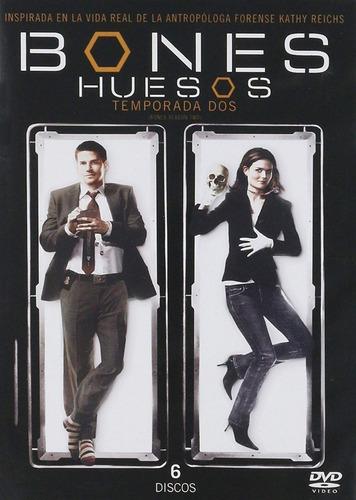 Bones Huesos Segunda Temporada 2 Dos Dvd