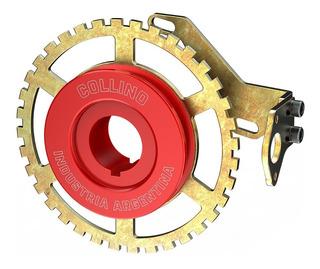 Polea Rueda Fonica 36-1 Fiat 1 Uno Roja Porta Sensor C-shop