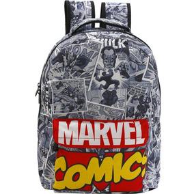 Mochila Marvel Comics Quadrinho 8095 T3