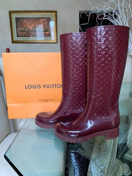 Botas De Lluvia Louis Vuitton 100% Originales