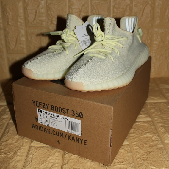 Tenis adidas Yeezy Boost 350 V2 Butter Tag Br 8.5/40