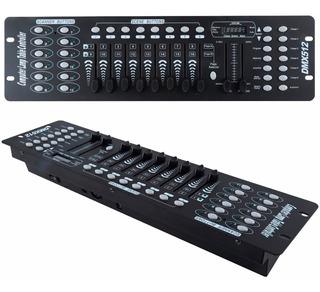 Controlador Dmx 512 Consola Mesa Dj Iluminación Discoteca