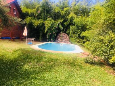 Casa Parque Del Plata Sur Piscina Climatizada