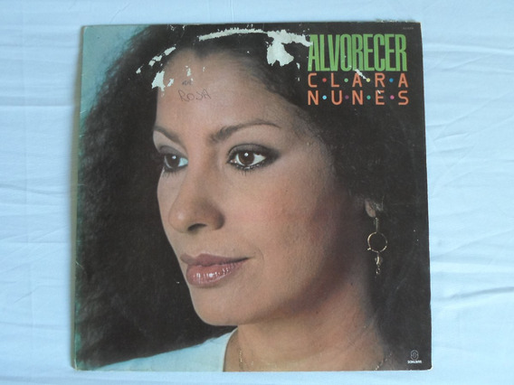 Lp - Clara Nunes - Alvorecer (1985)