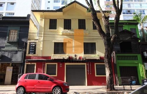 Casa Comercial De Três Andares Em Região Movimentada De Higienópolis! - Ja17050