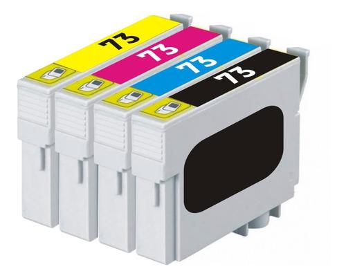 Combo 4 Cartuchos Alternativos Epson Cx7300 Cx8300 Cx5600