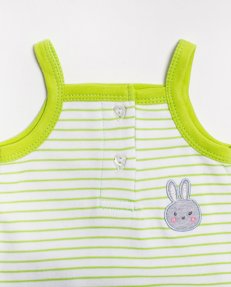 Body Para Niña Little Bunny