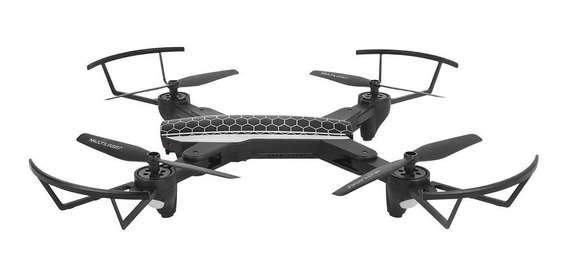 Drone Shark Com Câmera Hd Fpv Alcance 80 Mt Multilaser C/ Nf