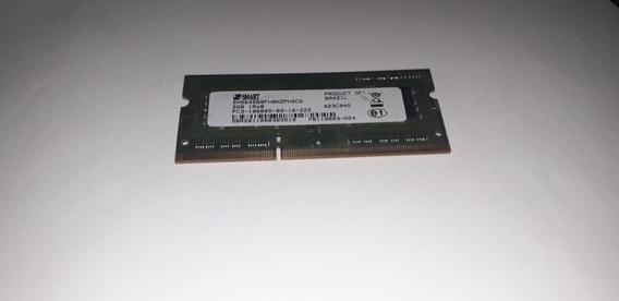 Memória Ram Notebook Smart 2gb 1rx8 Pc3 10600s Ddr3 A378