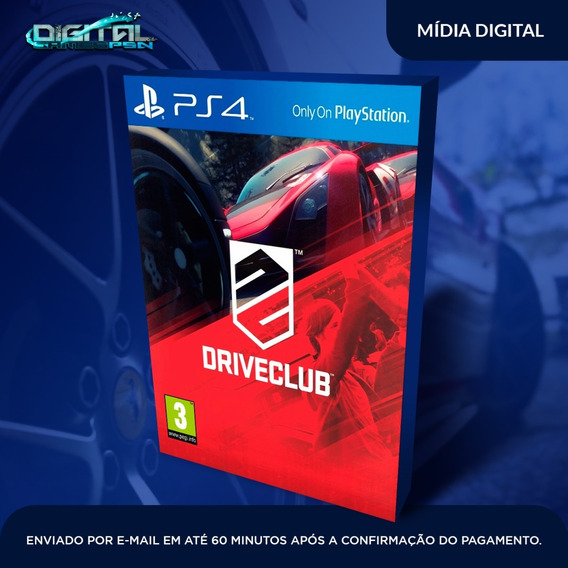 Drive Club Ps4 Psn Original Envio Imediato Pronta Entrega