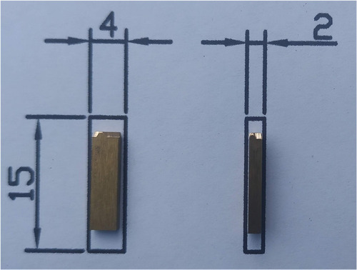 Imagen 1 de 4 de Cuños Números De Bronce  4 Mm Para Fechadores Hot-stamp