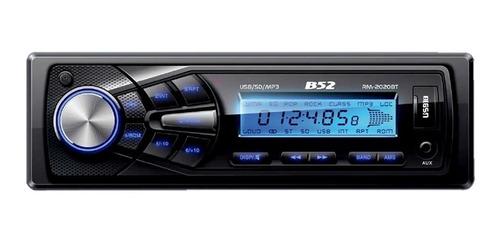 Estéreo para auto B52 RM-2020BT con USB, bluetooth y lector de tarjeta SD