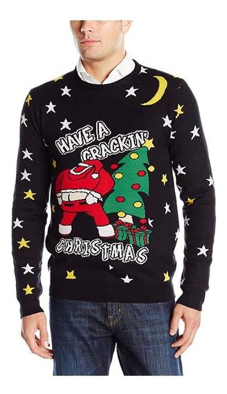 Suéter Feo Navidad Christmas Ugly Sweater Santa Talla Chico