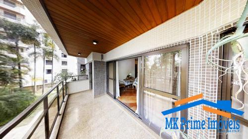 Imagem 1 de 15 de Lindo Apartamento Com 217 M² Em Moema, Próximo Ao Aeroporto! - 1930