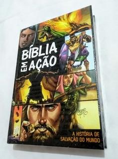 Bíblia Em Ação - Hqs Imagem - Lacrado