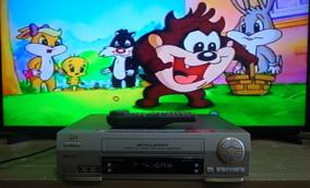 Video Cassete Jvc Hr-j683m + Controle - Funcionando