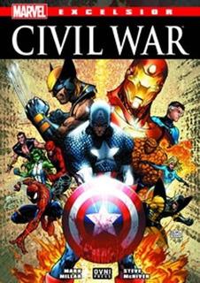 Comic Marvel Excelsior 02: Civil War - Mark Millar