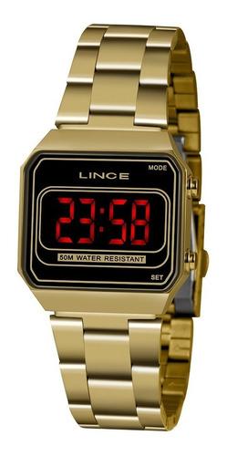 Imagem 1 de 7 de Relógio Lince/orient-unissex Digital  Mdg4645l Pxkx Oficial