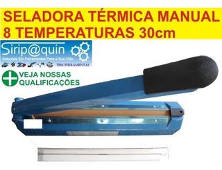 Seladora Termica Para Plasticos 30cm 8 Temperaturas 220v