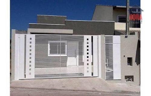 Casa Nova Em Atibaia. - Ca0555