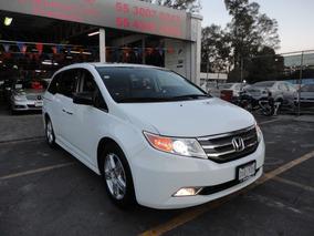 Honda Odyssey Touring 2012 Piel Cd Qc Dvd Unico Dueño