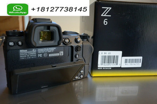 Nikon Z 6 24.5mp Digital Camera With 24-70mm F/4 Lens Nuevo