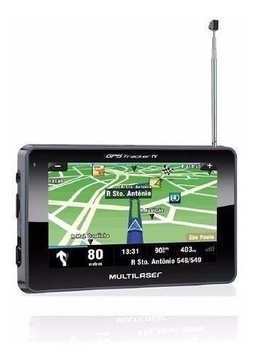 Gps Multilaser Tracker Tv Lcd 4,3 Pol. Touch Fm Book Gp034