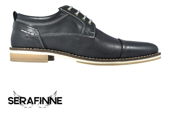 Zapatos Urbanos O De Vestir Cuero Hombre Careva Cocidos 4021