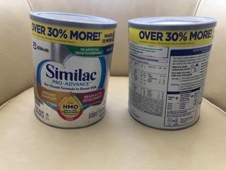 Similac Pro Advance Formula Para Bebe Productos Para Bebe