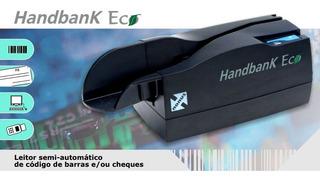 Leitor De Boletos E Cheques Nonus Handbank Eco 10 Usb