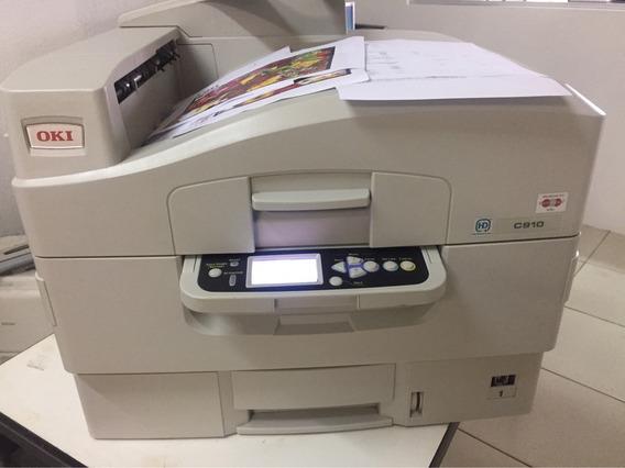 Impressora Okidata C910 A3 Laser Colorida Mini Gráfica