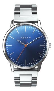 Reloj Hombre Formal Sumergible Elegante Analogico Abaco Caja