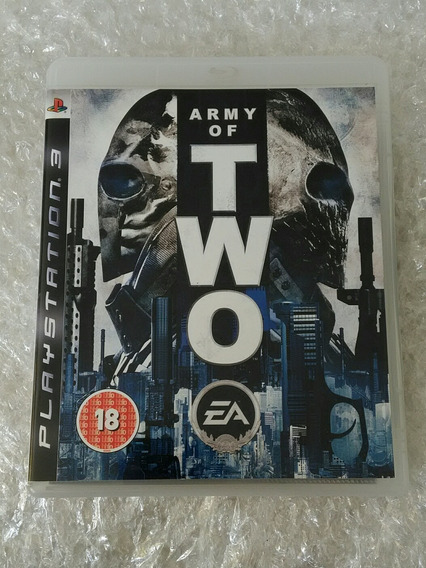 Army Of Two Ps3 Mídia Física Seminovo