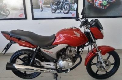 Motocicleta Honda Cg 150ex Titan 2013 Vermelha