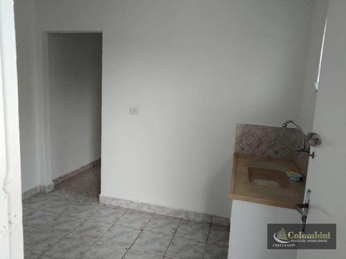 Casa Com 1 Dormitório Para Alugar, 50 M² - Nova Gerty - São Caetano Do Sul/sp - Ca0183