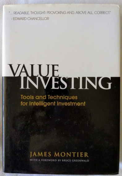 Livro Value Investing: Tools And Techniques For Intelligent
