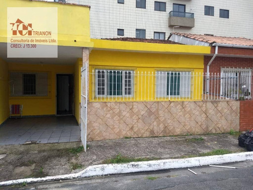 Casa Com 2 Dormitórios À Venda, 63 M² Por R$ 250.000,00 - Aviação - Praia Grande/sp - Ca0407