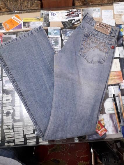 Jeans Oxford Elastizado Talle 30 Vov