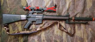 Arma Airsoft Full Metal Classic Arms 420 Fps + Vários Intens