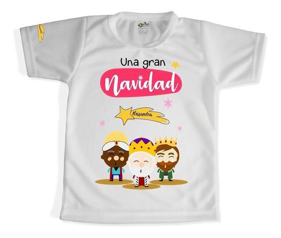 Franelas Personalizada Atletica Niños / Linea Navideños 2!