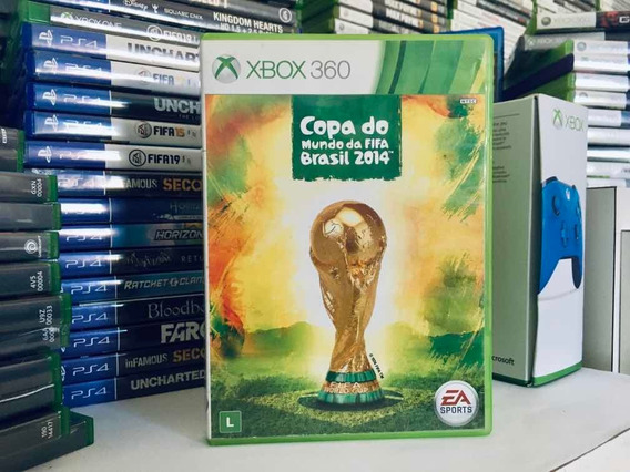 Copa Do Mundo Fifa Brasil 2014 Original Para Xbox 360 Em Cd