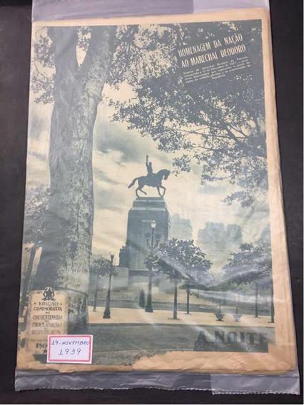 A Noite Ilustrada Edição 14-11-1939 Marechal Deodoro