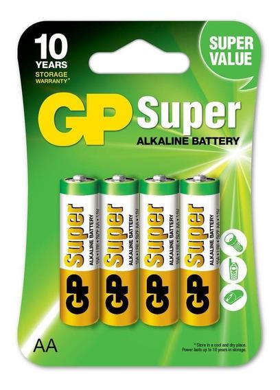 Pilas Baterias Aa Alcalina 4 Pilas Energia Duradera
