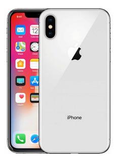 iPhone X Silver Usado 64 Gb Estado Impecable Con Cargador